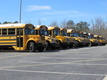Scholl Buses At Vickery Creek Middle